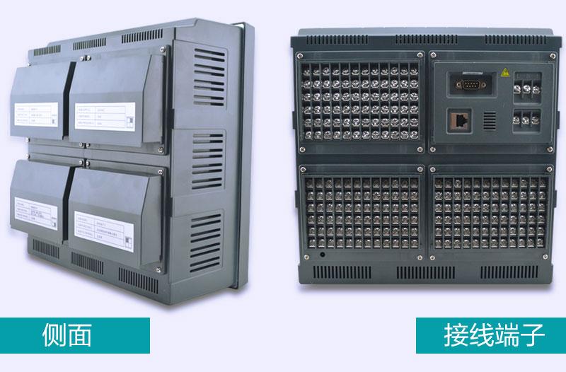 MIK-R8000D 侧面和接线端子