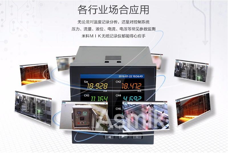 MIK-R9600记录仪使用场合