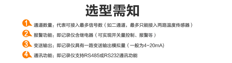 MIK-R9600记录仪选型需知