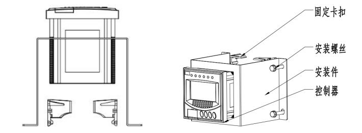 米科余氯控制器的组件图