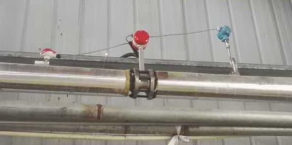 米科涡街流量计用于现场蒸汽测量