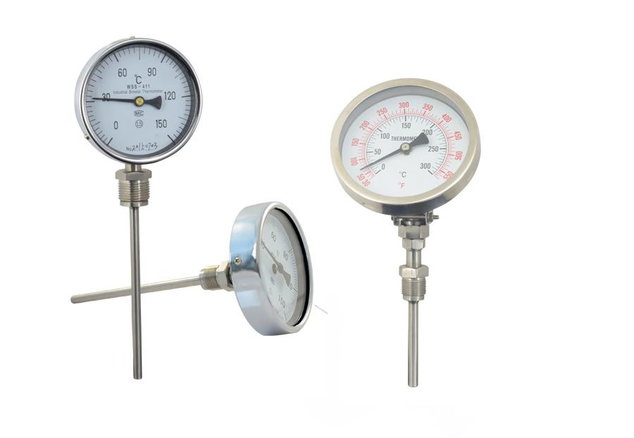 米科双金属温度计