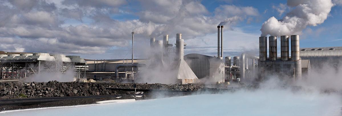 锅炉蒸汽供暖现场图