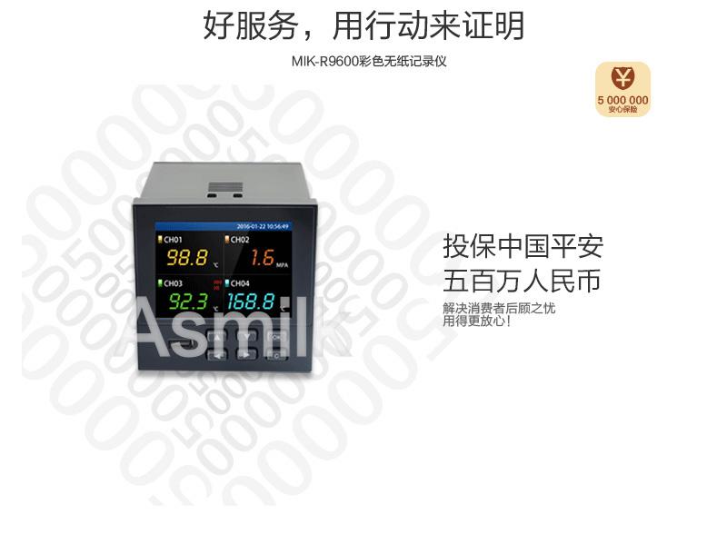 MIK-R9600记录仪投保