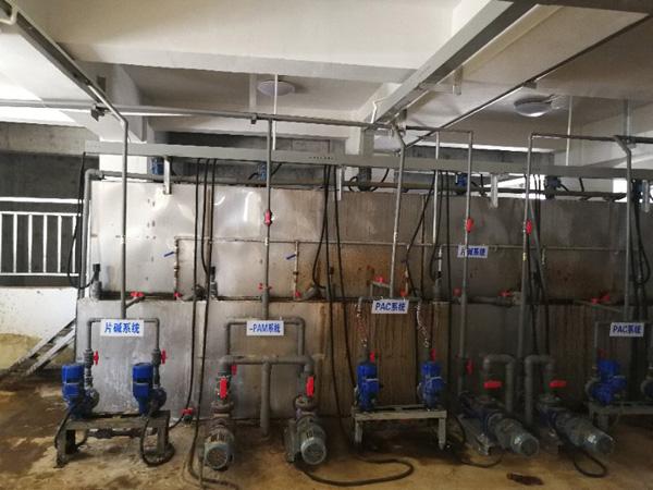 水处理工业现场