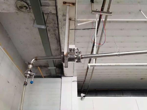 米科电磁流量计应用现场