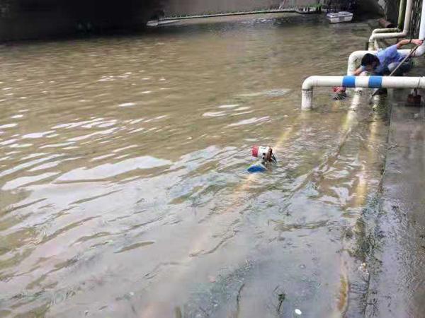 米科电磁流量计在大水淹没中使用