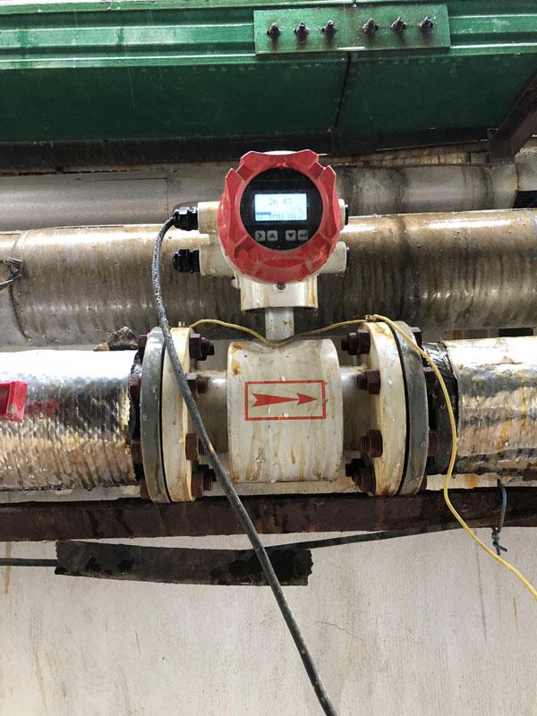米科电磁流量计使用现场