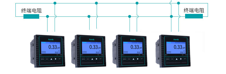 工业在线PH检测仪现场产品特点6