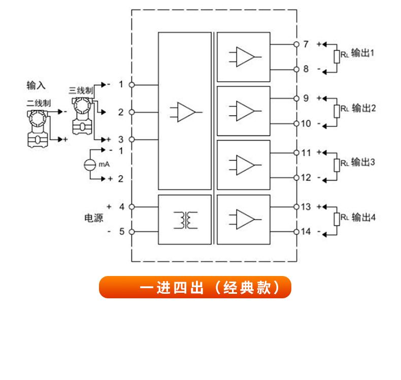 经典款MIK-602S产品接线图