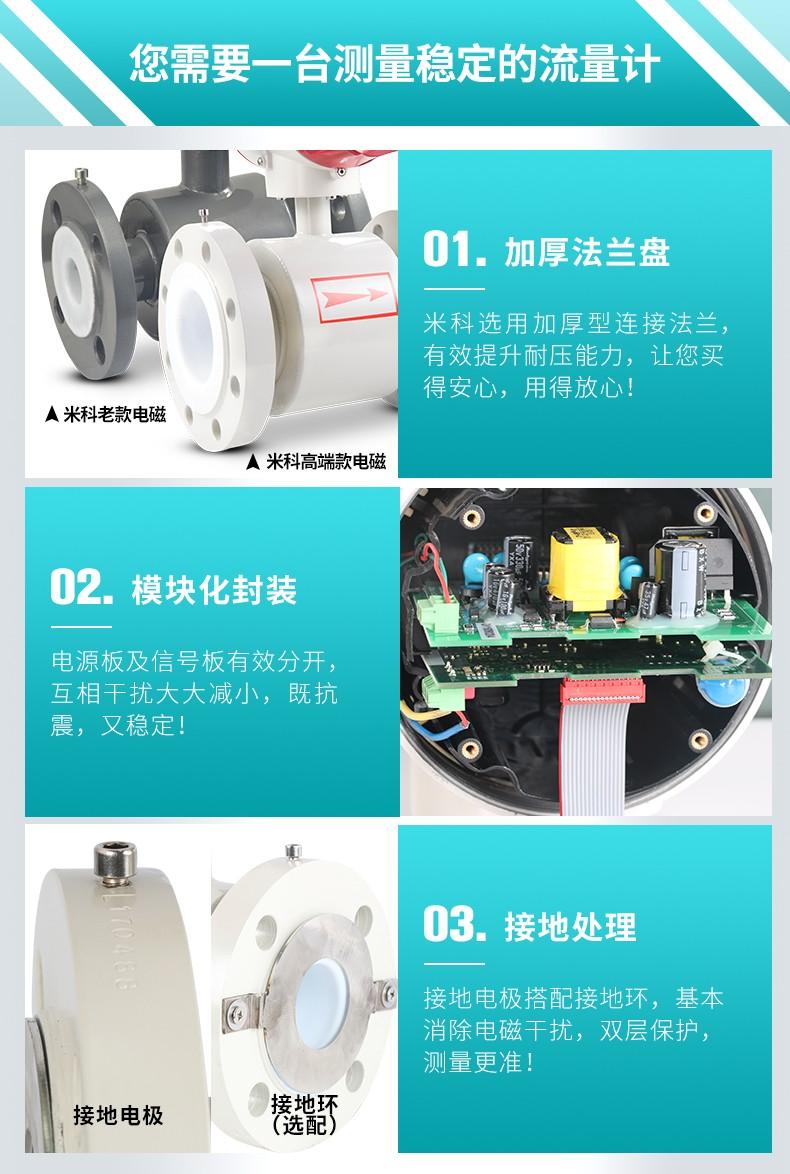 米科LDG-MIK电磁流量计产品细节